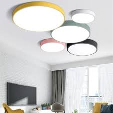 modern ultra thin 5cm led ceiling l lights