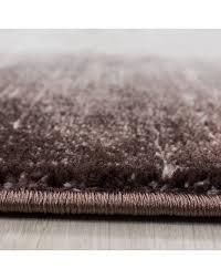 teppich modern designer wohnzimmer bordüre muster meliert braun beige creme