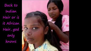 Naturally Straight West African Hair Vs IndiaProving That Women Have Natural