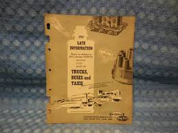 100 1951 Ford Truck Parts 1954 Blue Streak Original Ignition Catalog GMC