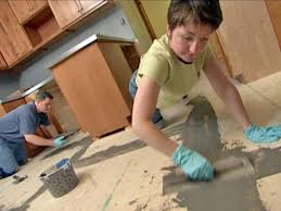 Preparing Concrete Subfloor For Tile by How To Prepare A Subfloor For Terrazzo Tile How Tos Diy