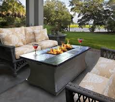 Propane Fire Pit Dining Table Set Coastal Room Sets And Elegant Oval Patios Images Worthy Patio
