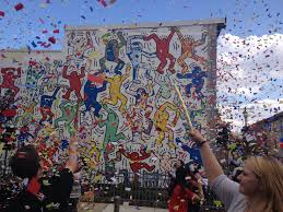 Philly Mural Arts Love Letters by Keith Haring Mural Re Dedication U2013 Haha Magazine