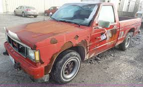 1990 GMC S15 Pickup Truck   Item J8423   SOLD! December 30 V... Recycled 2000 Chevrolet 0s15sonoma Knee Front 1987 Gmc Jimmy S15 Lowrider Custom For Sale Nissan With A Twinturbo 1uzfe Engine Swap Depot Preserved Plow Truck 1983 High Sierra Pin By Robert L On Auto Pinterest Chevrolet Cars And Gm Trucks Car Shipping Rates Services 1985 Pickup Sale Classiccarscom Cc937861 1989 14 Mile Trap Speeds 060 Dragtimescom Lil Yellow Truck Accsories Tting Saint Clair Shores Mi Faster Than Corvette Gmcs Syclone Sport Truck Ce Hemmings Daily