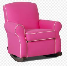 100 Reclining Rocking Chair Nursery Recliner Glider S Pink Png Download