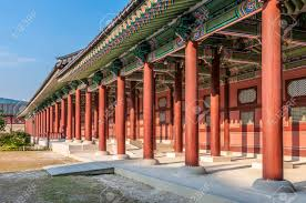 104 South Korean Architecture Traditional At Gyeongbokgung Palace In Seoul Korea Stock Photo Picture And Royalty Free Image Image 31981780