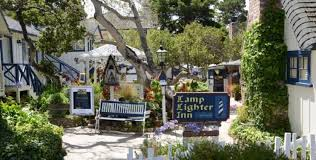 Lamp Lighter Inn Carmel by Surfwanderer Travel Guide Travel To California