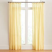 Brylane Home Sheer Curtains by Crinkle Curtains Curtains Decorations