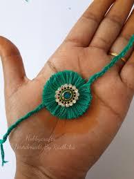 Rakhi With Silk Threads