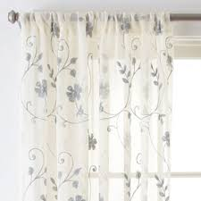 Jcp Home Curtain Rods by Jcpenney Home Malta Rod Pocket Curtain Panel Jcpenney