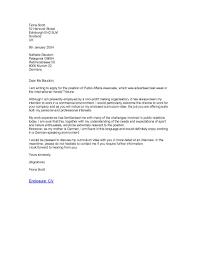 Formal Business Letter Applying For A Job Carta