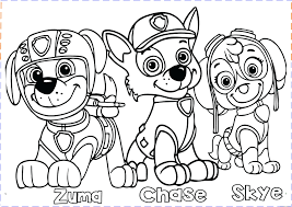 Coloring Book Pages Paw Patrol Copy Skye Sea Videos For Inspirationa Of Page