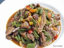 comment cuisiner le gombo gombo aux poissons fumés et à la viande de bœuf radio okapi