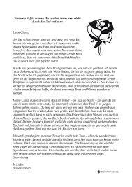 B1 Schriftlich Schreiben Persönlicher Brief Hobby Reise