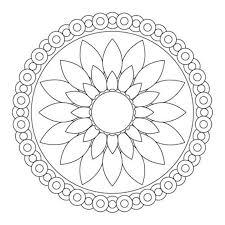 Medium Size Of Coloring Pageseasy Mandalas To Color Mandala Pages Pdf Printable Download