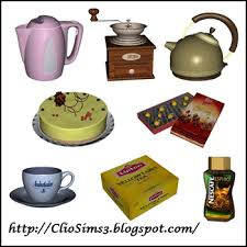 Kitchen Decor By Dada For Sims 3