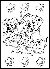 101 Dalmatiens Disney 5 Coloriage Les 101 Dalmatiens Coloriages