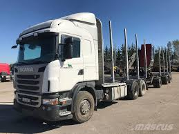 Used Scania G 480 LB6X4HSA Logging Trucks Year: 2011 Price: $81,188 ...