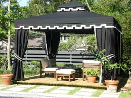 Stunning Screened Gazebo Photos by 10 Relaxing And Comfortable Outdoor Canopy Designs Rilane