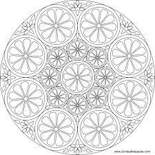 Geometric Design Coloring Pages Best Of Mandala Pdf