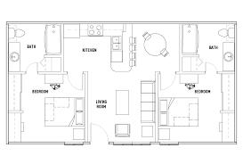 2 Bed 2 Bath Phase 2 WAITLIST University Village at