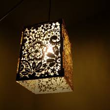 Laser Cut Lamp Shade by Modern Laser Cut Lighting Will Add Luxury To Your Home And