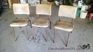 how to convert old chairs into fun end tables and extra seating