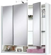 livarno living spiegelschrank mit 3 türen led beleuchtung