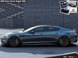Aston Martin 4 Door URBANTRAIT