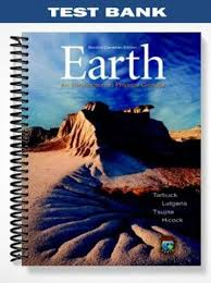 Test Bank Earth An Introduction Physical Geology Second Canadian Edition 2nd Tarbuck At