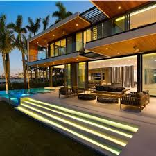100 Modern Miami Homes Beach Estate Absolute Waterfront With An