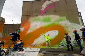 Philly Mural Arts Events by Mural Arts Crossing The Tracks In Living Color Hidden City