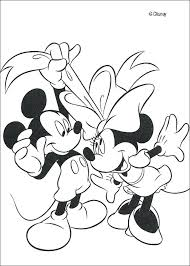 Full Image For Minnie And Mickey Mouse Colouring Pictures Coloring Pages Christmas