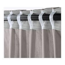 ikea vivan curtains 1 pair gray 57 x 98 1 2 2 panels ebay