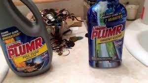 sink drain clog remover comparison liquid plumr full clog vs