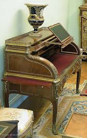 bureau de change tuileries rolltop desk louvre museum