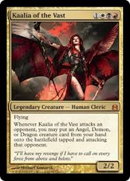 Magic The Gathering Edh Deck Box by Budget Commander Kaalia Of The Vast