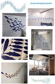dunkelblau i wandsticker badezimmer meerestiere fliesen