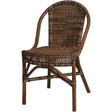 korb outlet rattanstuhl klassik schwarz braun esszimmerstuhl schmal esszimmer stuhl küchenstuhl natur rattan
