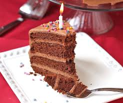 Healthy Chocolate Birthday Cake with Chocolate Frosting