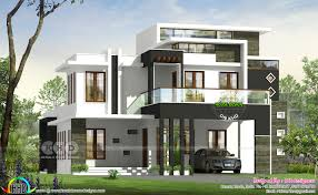 100 Contemporary Home Design 3 BHK Contemporary House Plan Architecture Kerala Home