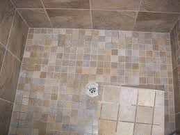 shower floor tile master bed bath shower floor