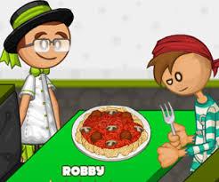 jeux de cuisine pizza papa louis papa louie when pizzas attack free yoob friv