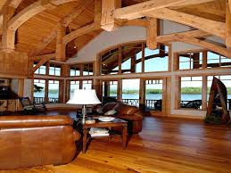 Rustic Open Floor Plans Home With Plan Houses