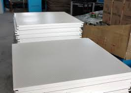 high end steel perforated acoustic ceiling tiles for lay on