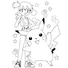 Pikachu Coloring Pages Page Free Printable