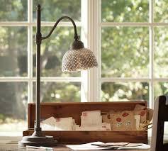 Pottery Barn Floor Lamp Assembly by Chloe Hobnail Mercury Glass Task Table Lamp Pottery Barn