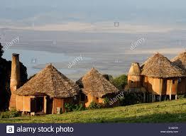 100 Crater Lodge Ngorongoro In Tanzania Africa Stock Photo 52366491 Alamy