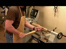 Sam Maloof Rocking Chair Class by Building A Maloof Rocking Chair Turning The Front Legs Youtube