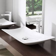 Small Trough Bathroom Sink With Two Faucets by Bathrooms Design Red Vessel Sink Custom Sinks Drop In Bathroom